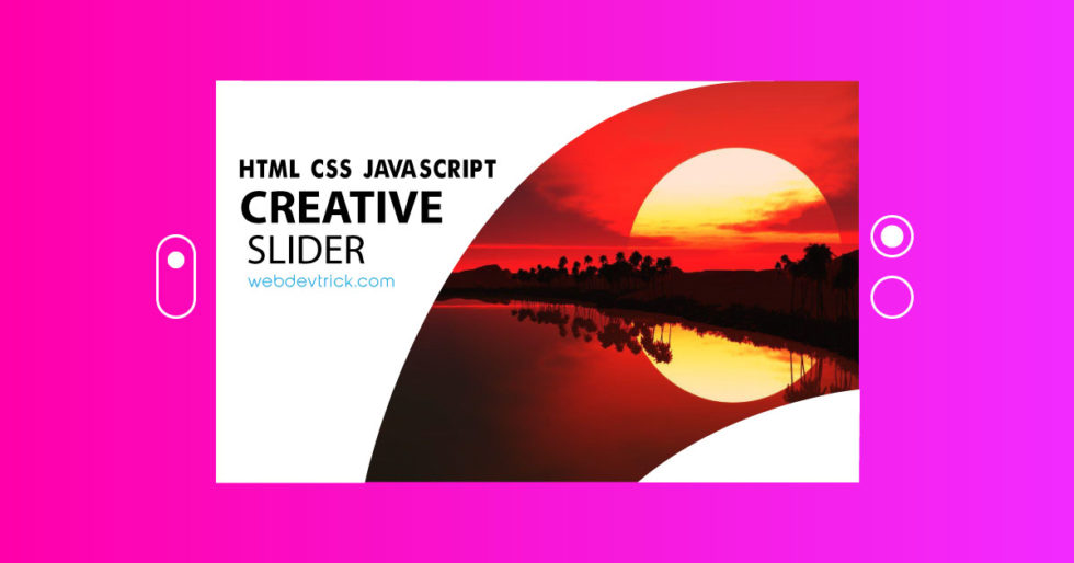 Creative Slider In CSS, HTML, and JQuery | Example & Source Code