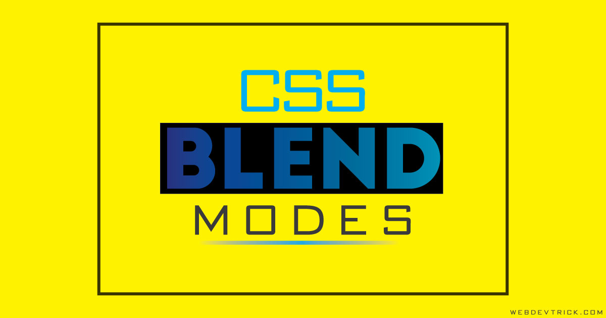 CSS Blend Mode With HTML & JavaScript   Blend Image With Gradient