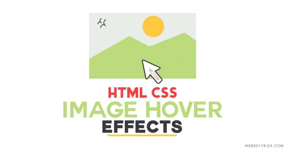 HTML CSS Image Hover Effects | With Pure CSS Filter & Transition