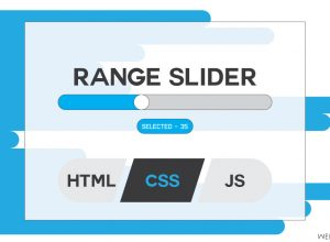 CSS Range Slider With HTML & JavaScript | Using jQuery Functions