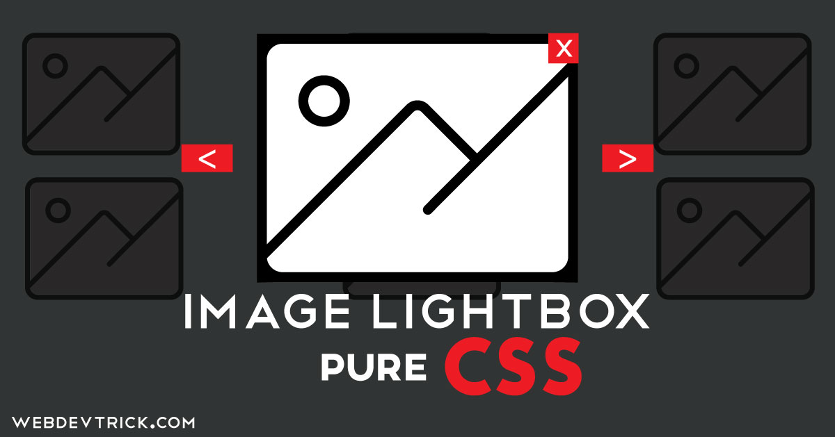 Image Lightbox In Pure CSS | Expand Image On Click