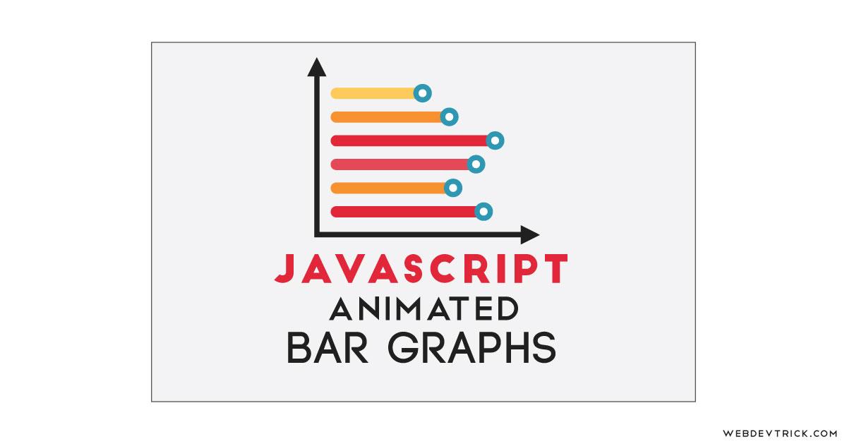 JavaScript Animated Bar Graph   Bar Chart With Animation