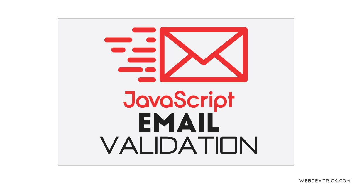 JavaScript Email Validation With CSS UI | Email Validate JS