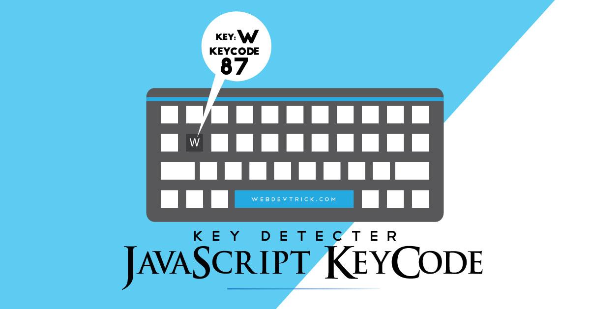 JavaScript Keycode Program | Detect Keypress Event Using JS
