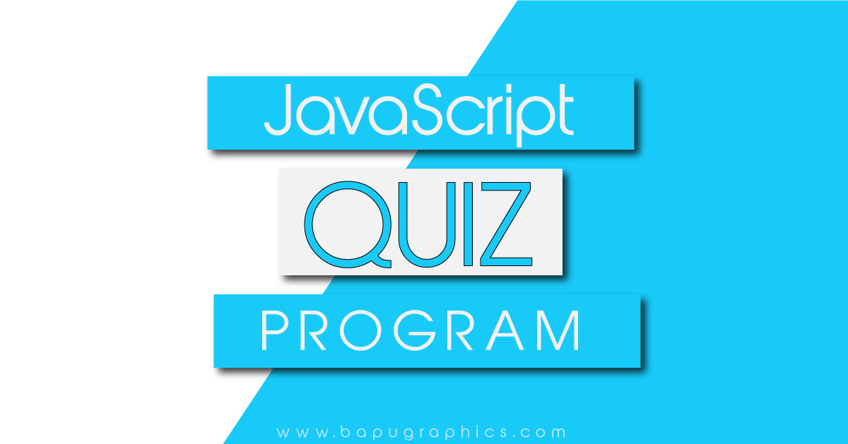 JavaScript Quiz Program | How to Create JS Quiz App
