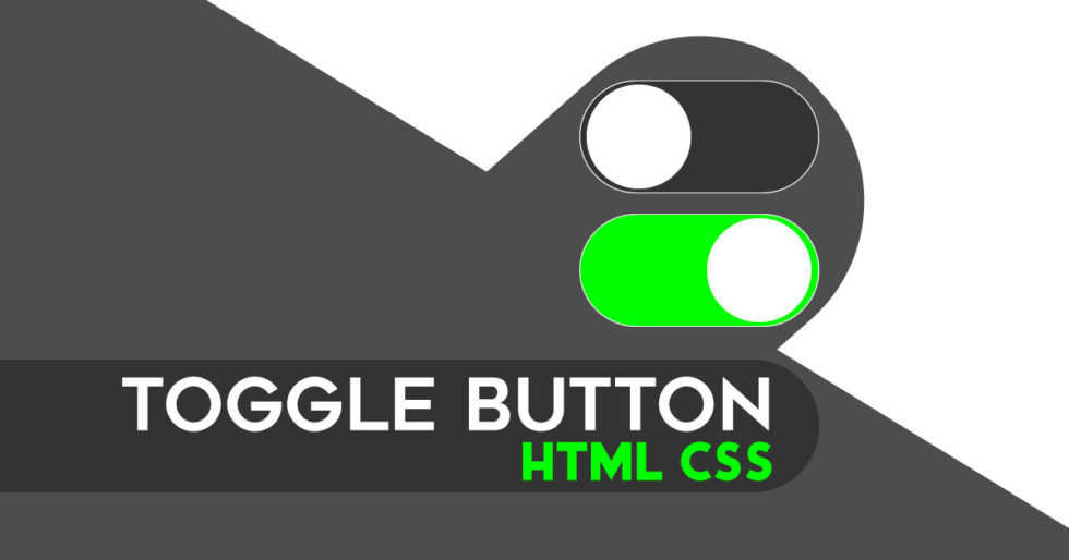 Toggle Button In CSS & HTML | Toggle Switch Like IPhone